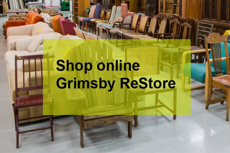 shop the Grimsby ReStore