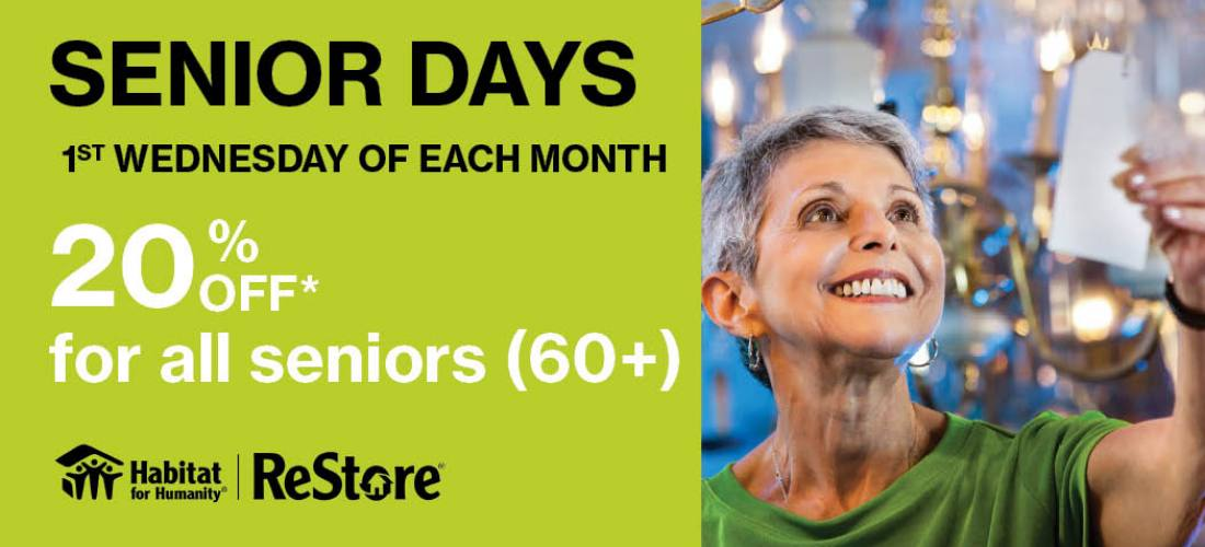 NEW Senior Days at the ReStore  image.