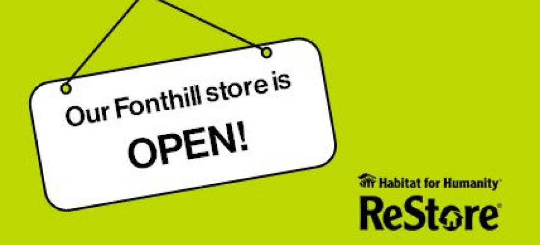 Our Fonthill ReStore is OPEN  image.