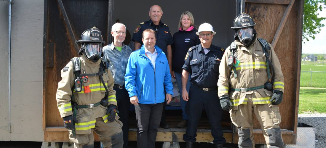 Grimsby Fire Department partners with the ReStore image.