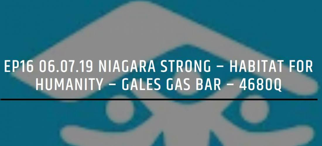 Niagara Strong Podcast Series image.