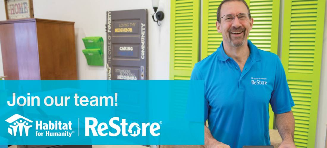 Join our ReStore team  image.