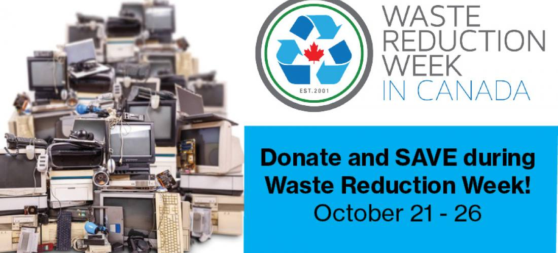 Donate and SAVE during Waste Reduction Week  image.